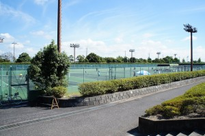 総合公園テニス場2